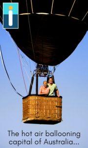 The hot air ballooning capital of Australia